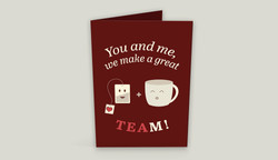 Valentine Greeting Card Front