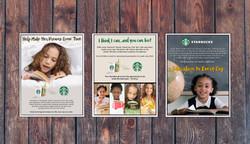 Three Digital Roughs of Ads