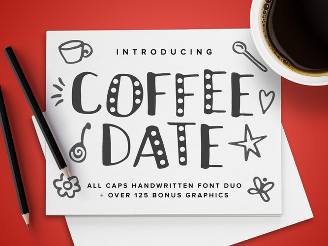 Coffee Date Font