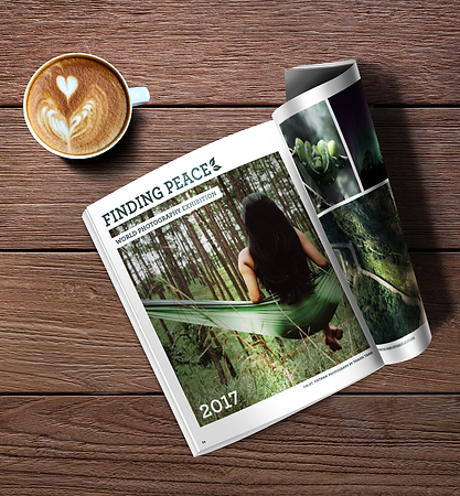 Sample of a Professional Magazine Content Layout
