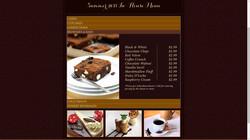 Website Menu Page