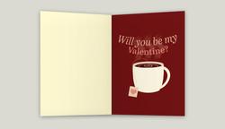 Valentine Greeting Card Inside