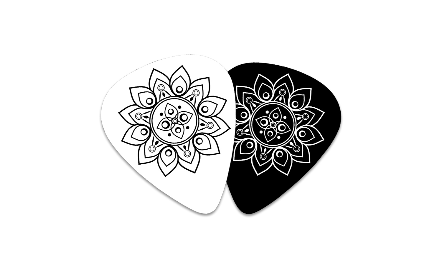 Lotus Rhythms Guitar Picks