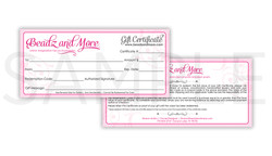 Beadz and More Gift Certificate