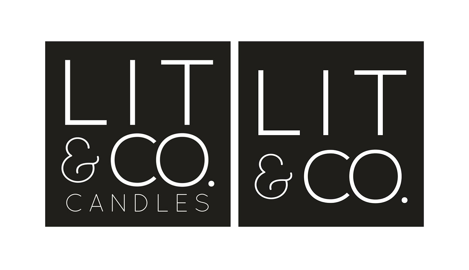 Lit & Co. Candles® Logos
