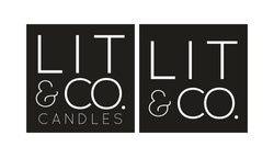 Lit & Co. Candles® Logos