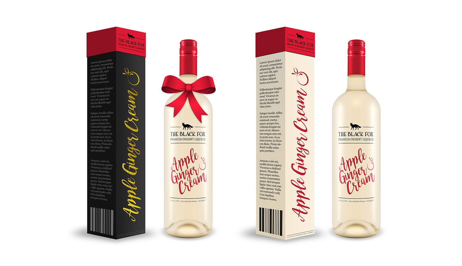 Regular and Holiday Bottle Packaging