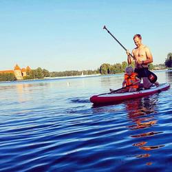 Tėti, varom į pilį! 🏹  #varomsupint #Trakai #vilnius #Lithuania #family #laisvalaikis #vasara #gosu