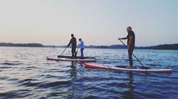 Irklentės ežere