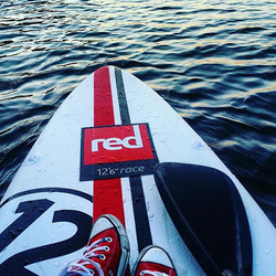 Red is always a good choice ;) #varomsupint #gosuplt #redpaddleco #irklentės #red #goodchoice #traka