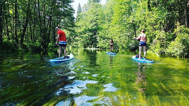 Irklenčių turas Šalčios upe