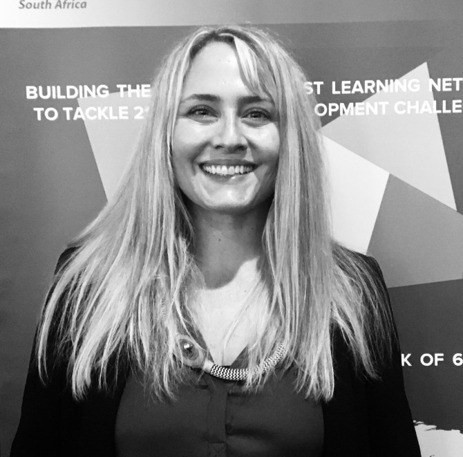 Simone Smit, Head of Exploration at the UNDP Accelerator Lab South Africa