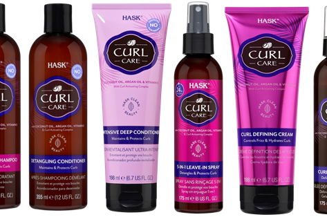 HASK Launches New Curl Care Collection