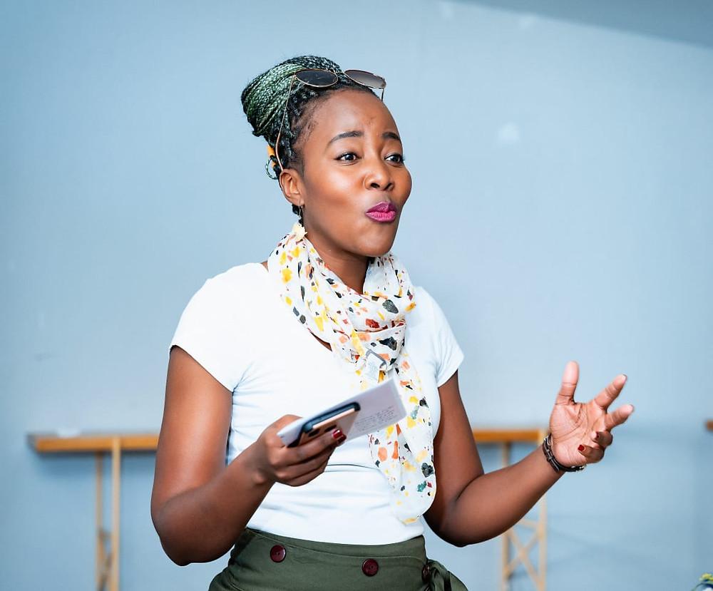 Zoya Mabuto Mosadi public speaker