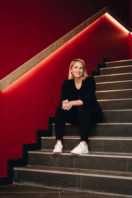 Curator of the Radisson RED Rosebank Carly de Jong