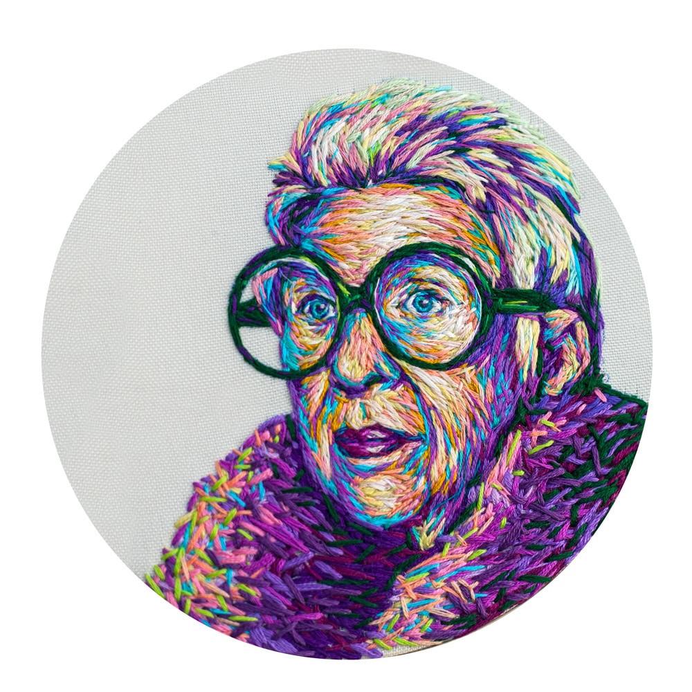 Iris Apfel Mosadi