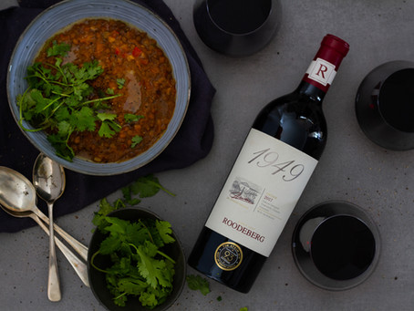 Red Wine and Lentil Soup - The Perfect Winter Pair