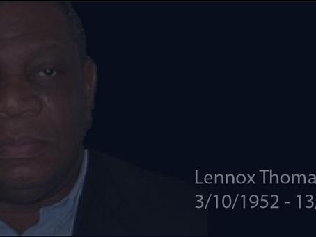 A Tribute to Descendants' Patron Lennox Thomas