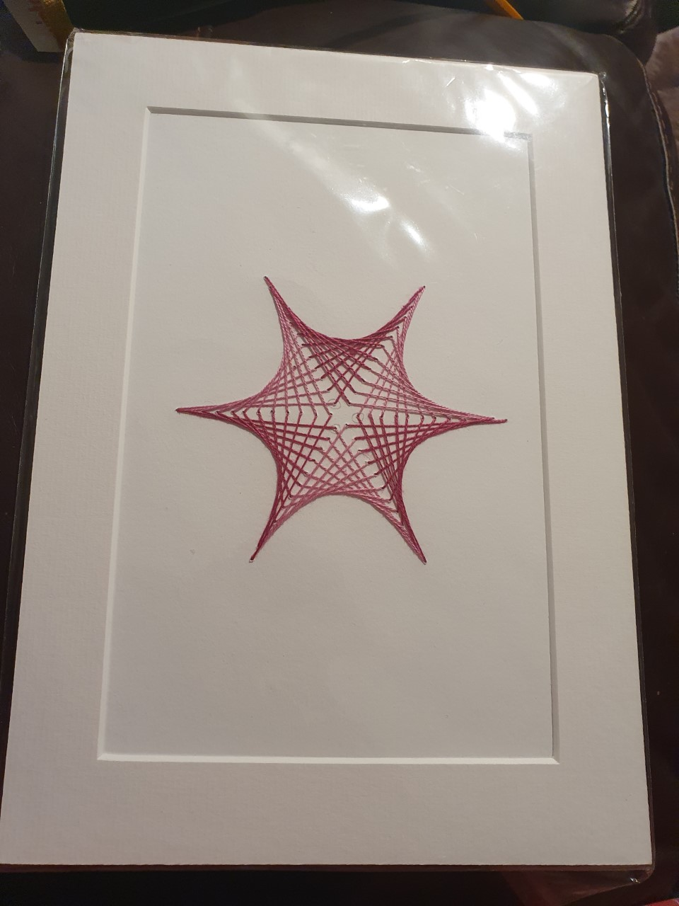 String Art Work- Leo Codrington-Lambert (15) & Jayden-John Costa-Codrington (10)