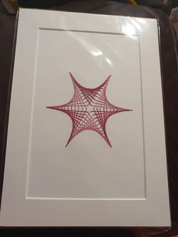 String Art Work- Leo Codrington-Lambert (15) & Jayden-John Costa-Codrington (10)