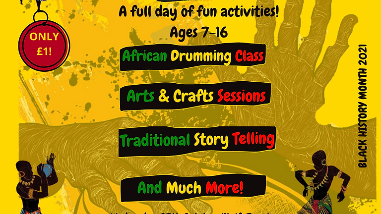 Black History Month - Activity Day!