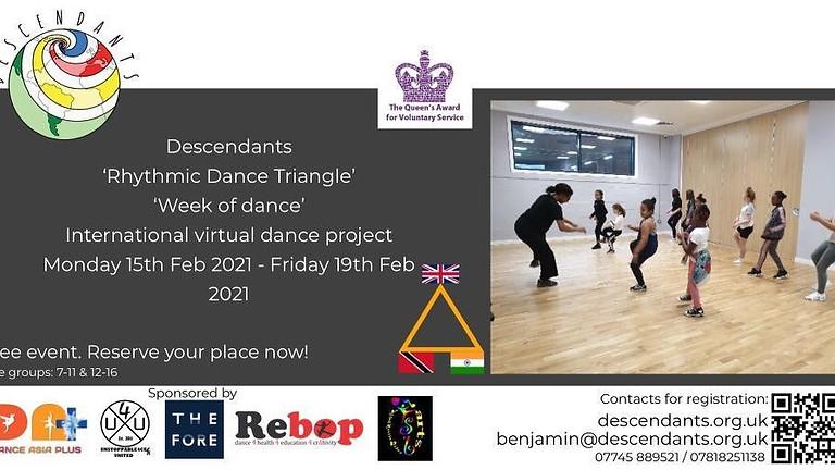 Week of Dance: Rhythmic Dance Triangle