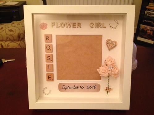Flower Girl Frames | mindcrafter