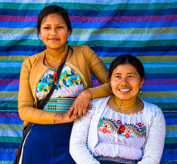 Otavato Indigenous Mother and Daughter Rick Trevino