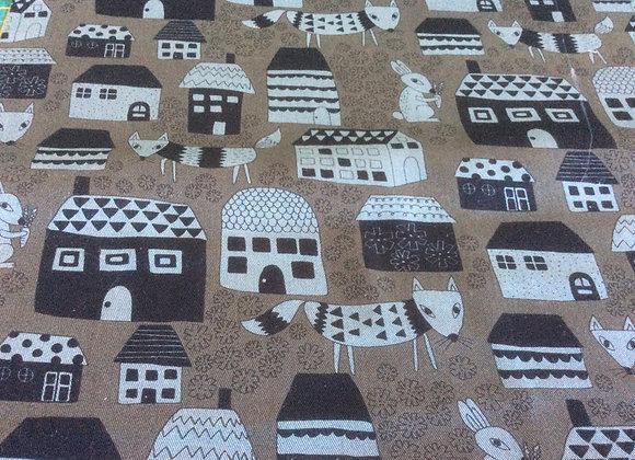 Cotton Canvas  Houses
