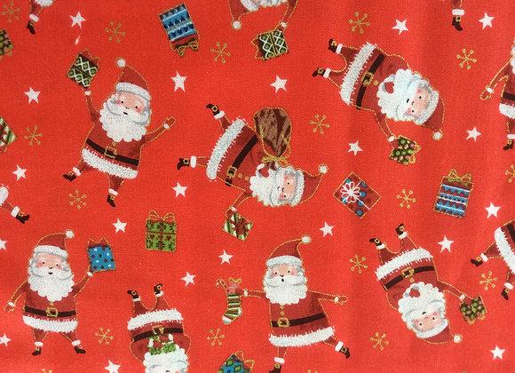 Santas Express fabrics