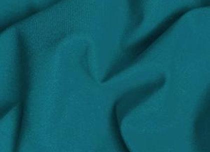 Teal Plain Fabric