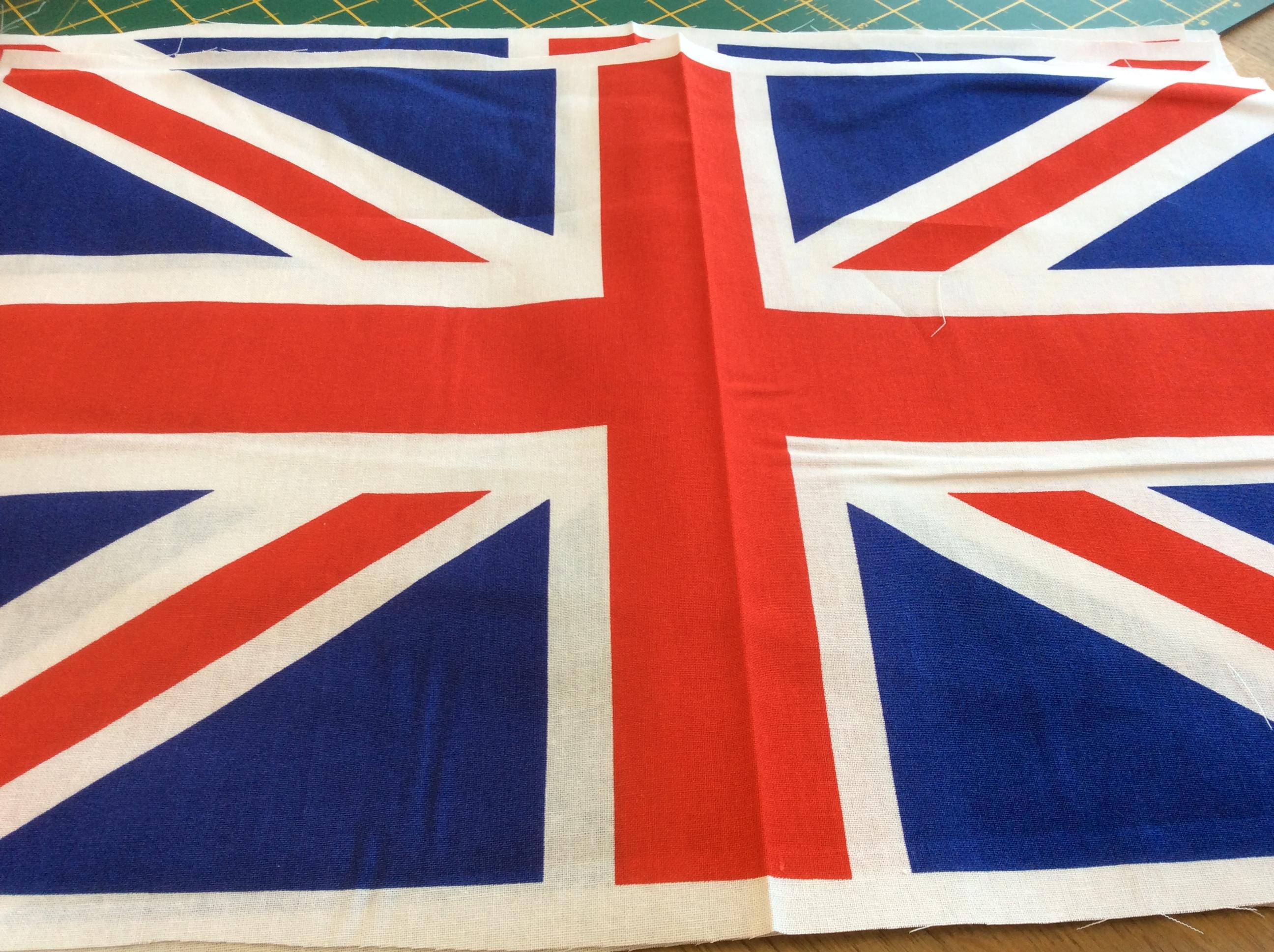 Union Jack Fabric £9.00 metre
