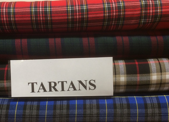 Viscose Tartans