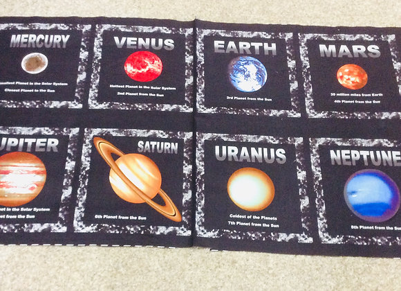 Planets Panel