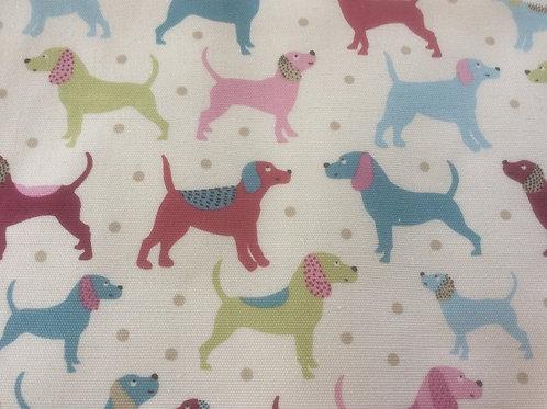 Cotton Canvas DOGS