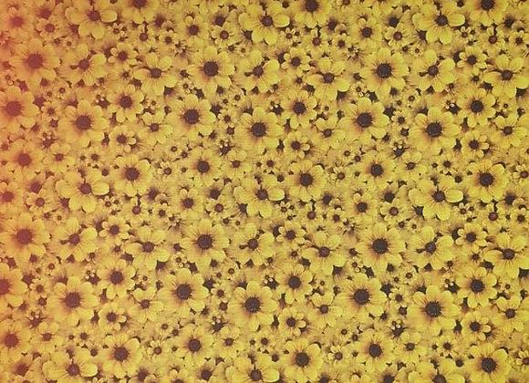 SUN FLOWERS   DIGITALLY PRINTED