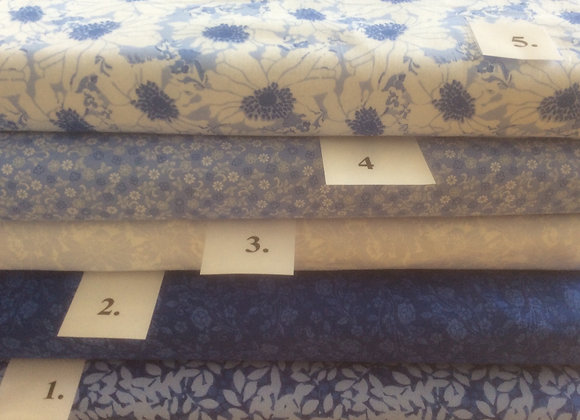 CHINTZ COLLECTION  BLUE AND WHITE