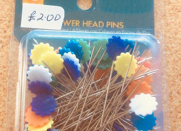FLOWERHEADED PINS