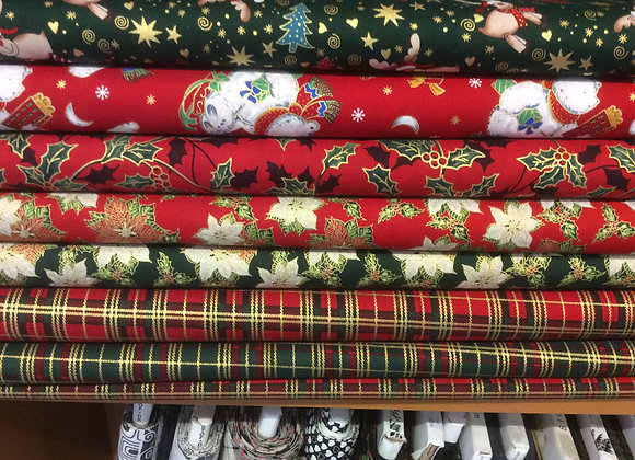 WIDE WIDTH CHRISTMAS FABRICS