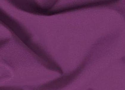 Damson Plain Fabric