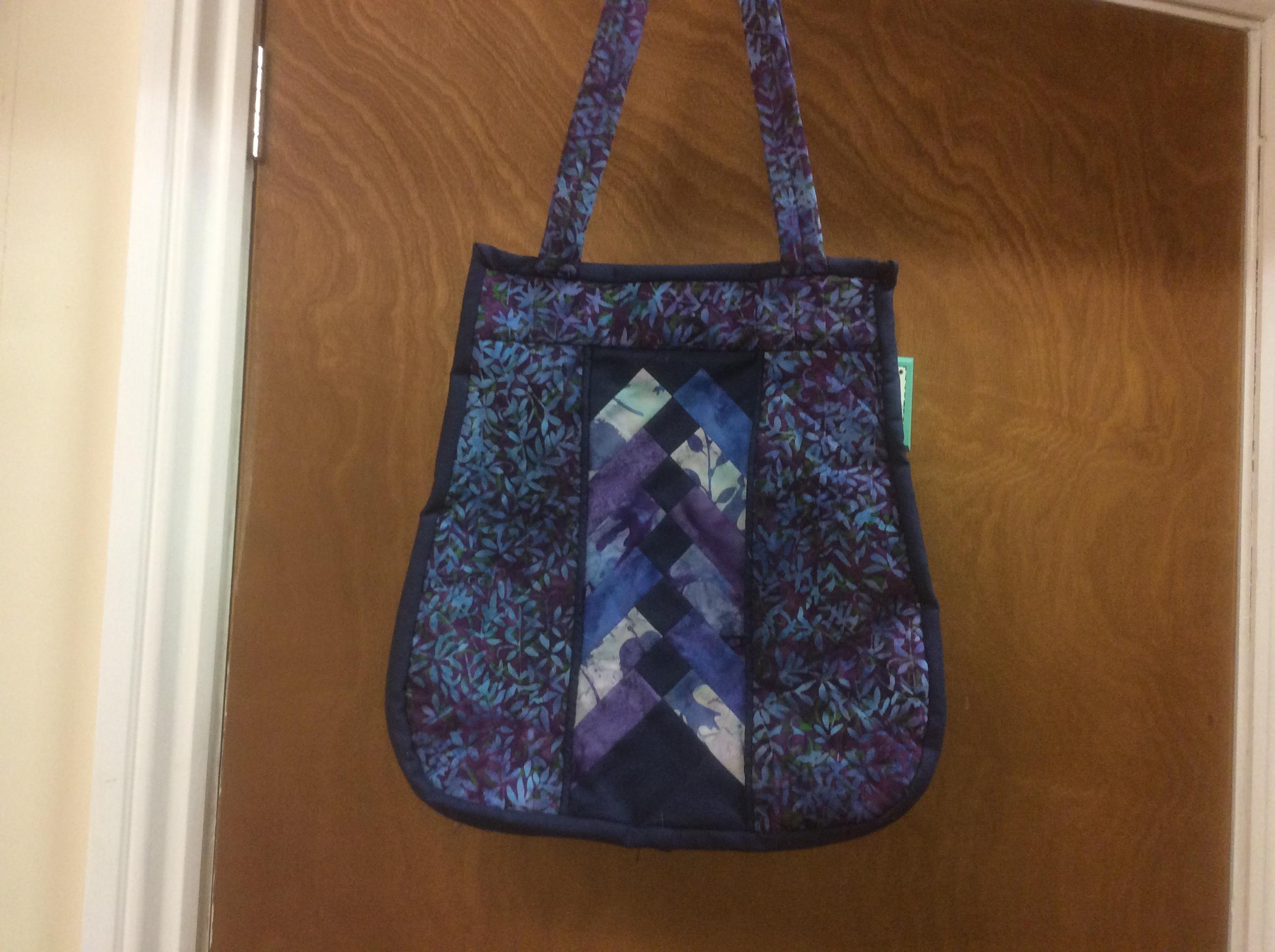 Anita's bag made in workshop