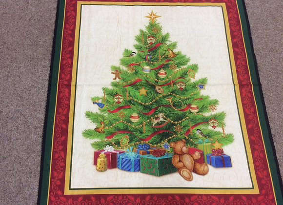 Large Christmas Tree Panel