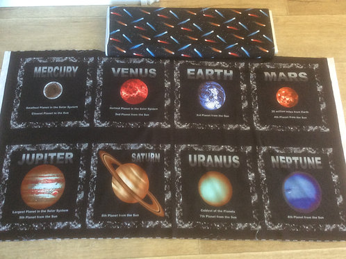 COSMIC SPACE PANEL AND CO-0RD FABRICS