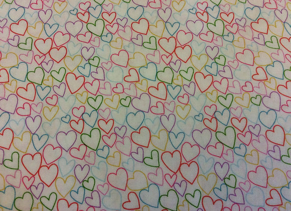 Day Dream Multi Coloured Hearts