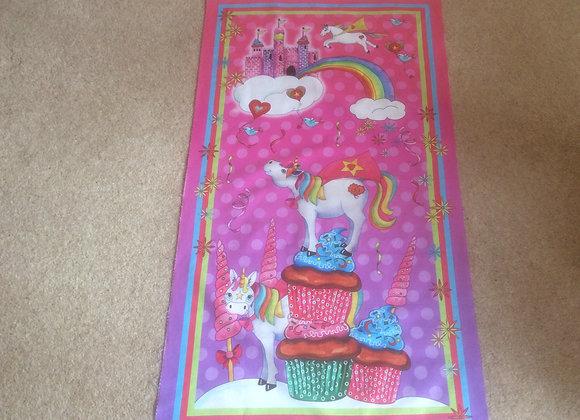 Unicorns and Cupcakes Panel
