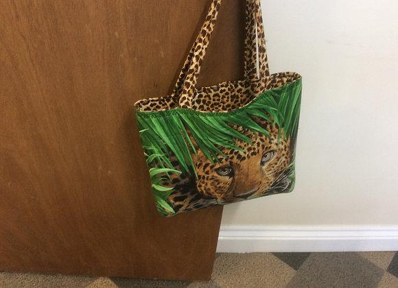 Leopard Bag panel