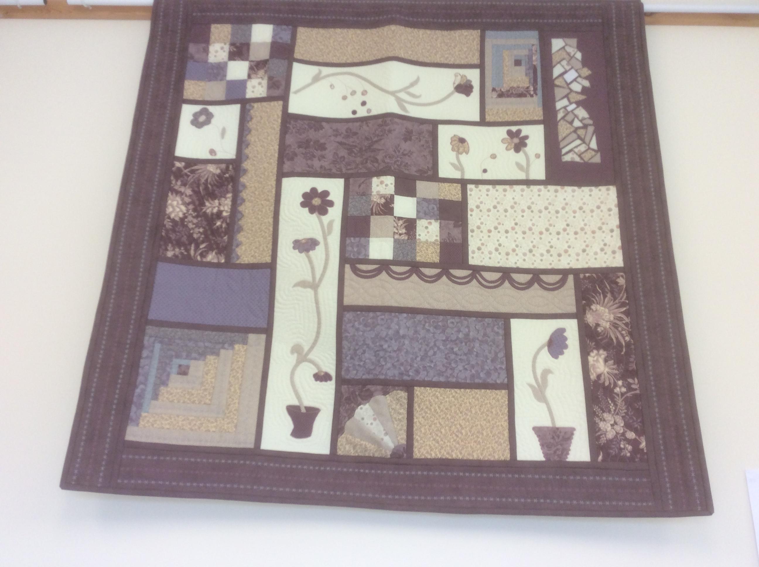 Ann's gorgeous quilt