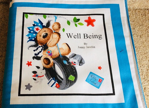 Fabric Book Panel   -   Well Being