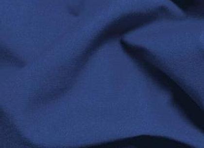 Navy Plain Fabric