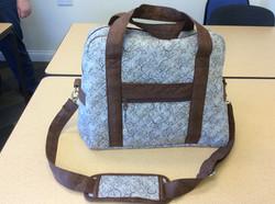 Moira's weekend bag